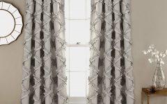 Ruffle Diamond Curtain Panel Pairs