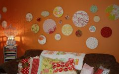 No Sew Fabric Wall Art
