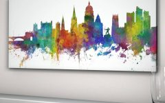 Nottingham Canvas Wall Art