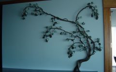 Grape Vine Metal Wall Art