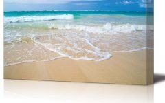 Canvas Wall Art Beach Scenes