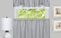 Window Curtain Tier and Valance Sets