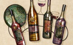 Wine Metal Wall Art