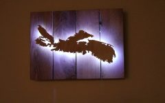 Backlit Wall Art