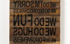 Wooden Word Art For Walls