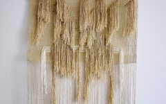 Woven Fabric Wall Art