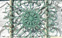 Wrought Iron Garden Wall Art